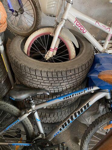 Транспорт - Чон-Таш: Продаются зимние шины.  В хорошем состоянии.  Размер - 225/55/18