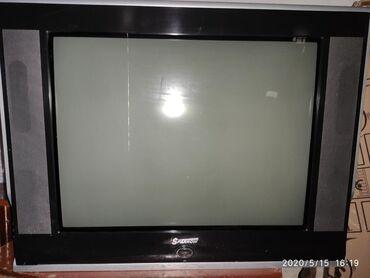 телевизор диагональ 72 в Кыргызстан: Продаю телевизор большой диагональ 72 Sparrow цветной.есть входа для