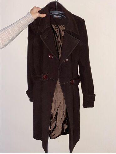 Braon kaput, prelep kroj, broj 38
