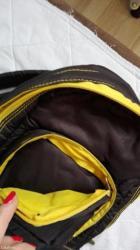 """Nov  ranac kupljen u englesku,marka ,,unoomarttins""""crne boje sa žutim  - Kikinda - slika 3"""