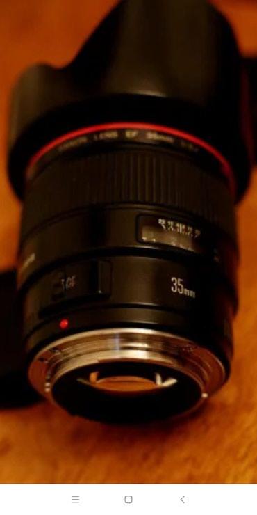 Qusar şəhərində Canon EF 35mm f/1.4L USM ela veziyyetde.Hec bir problemi