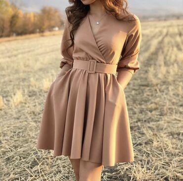 Платье с карманами в идеальном состоянии, надевала 1 раз. Размер