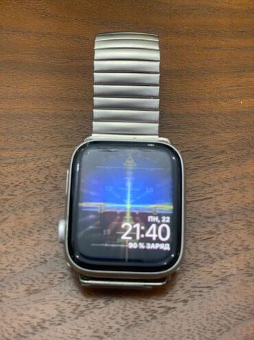Gümüşü Kişi Qol saatları Apple