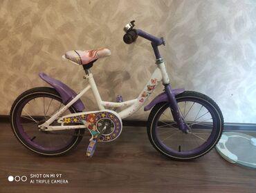 Продается детский велосипед Феи Винкс, б/у есть боковые колесики и