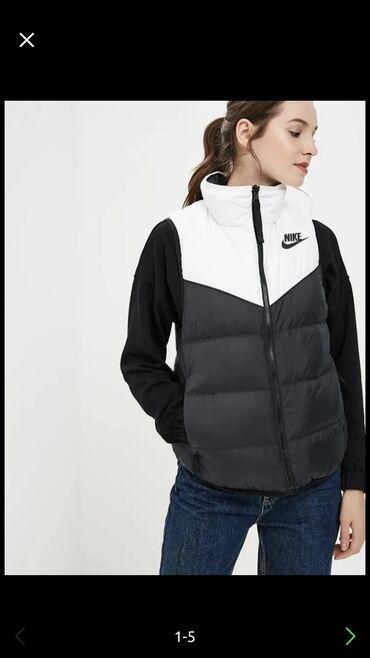 Женский жилет с пуховым наполнителем Nike оригинал размер S в отличном