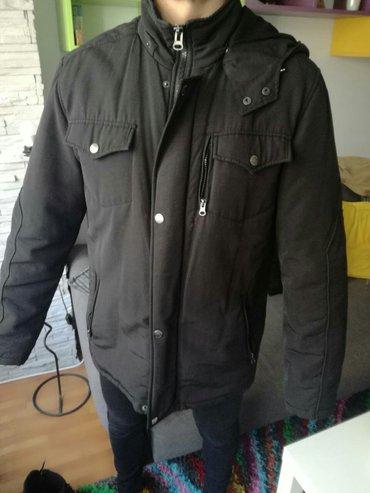 Zimska muška jakna. Veličina l. 1200 din. Nošena, u dobrom - Belgrade