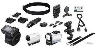 Videokameri | Srbija: Sony HDR-AZ1, akciona kamera sa dodatnim delovima i drzacima