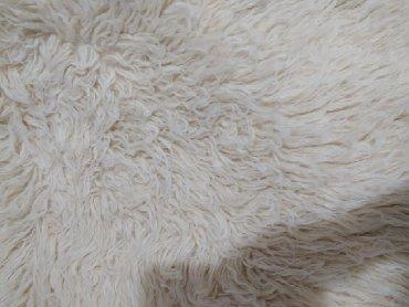 Kućni dekor - Pozega: Vunene jambolije 2kom, boja bela, 210cmx150cm