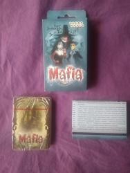Карты Мафия, Настольная играНераспакованные, 27 карт ролей, 18 карт