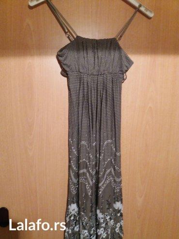 Nova haljina na brtelice velicina s/m - Vrnjacka Banja
