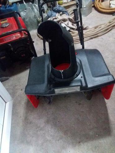 инструменты bosch в бишкеке в Кыргызстан: Продаю электрическую снегоуборочную машинку в отличном состоянии