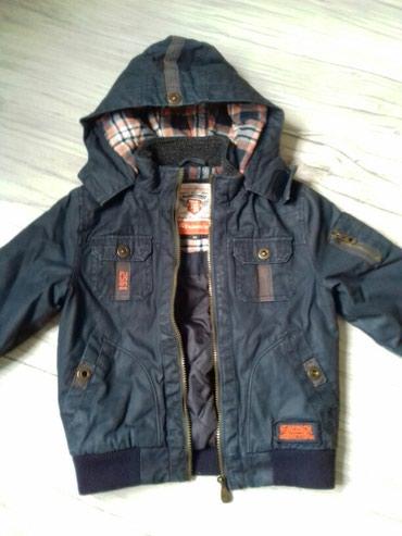 Dečija odeća i obuća - Nova Pazova: Jakna za decaka zimska ocuvana lepa
