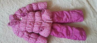 Детские флис - Кыргызстан: Продаю детскую зимнюю двойку,камбез+куртка,носили аккуратно,очень