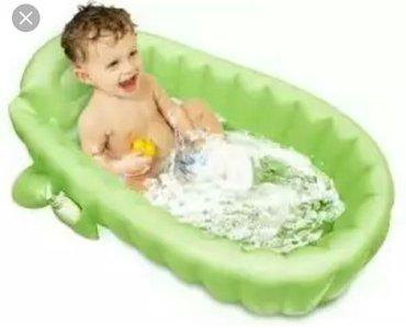 Новая надувная ванночка для детей до года. в Лебединовка