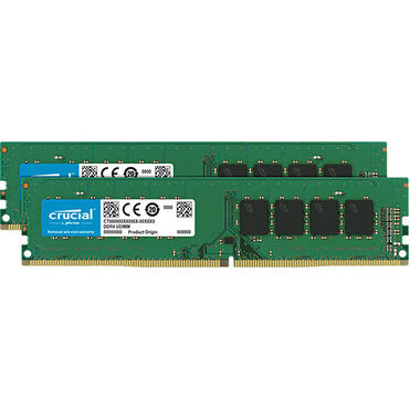 DDR4 16GB (8x2) Crucial 2400Mhz