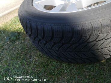 Bmw 3 серия 320i efficientdynamics - Srbija: BMW 320 alu felne 16 4 komada Komplet sa gumama