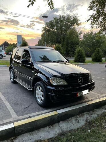 кто продает авто в рассрочку бишкек в Кыргызстан: Mercedes-Benz ML 430 4.3 л. 1999 | 139800 км