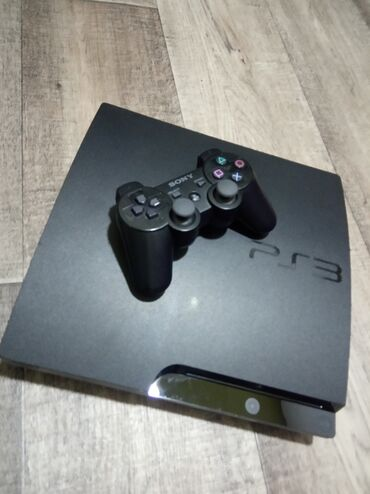 ps-3-games в Кыргызстан: PlayStation 3 Slim 500 GB. Приставка прошита (Rebug 4.86), установлен