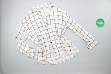 Жіноча сорочка в клітину AMISU, р. XS   Довжина: 67 см Рукав: 47 см На