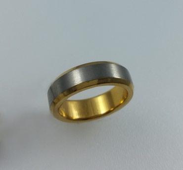 Кольцо из титана. Размер 17,5. Цена 3500 в Бишкек