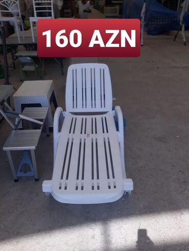 Bağ mebeli - Azərbaycan: Sezlonq yeni geldi telesin