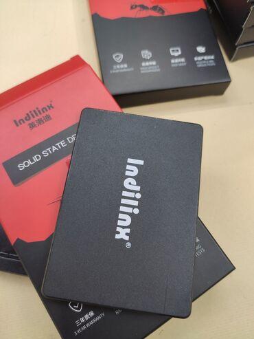 Жесткие диски, переносные винчестеры - Кыргызстан: Сверхскоростные новые SSD диски на 128 гб Indilinx Тормозит ноутбук