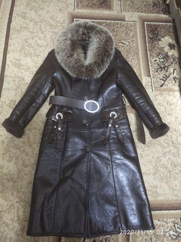 Продаю женское зимнее пальто мех натуралка