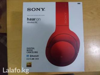 Sony h. Ear on wireless nc mdr-100abn в Бишкек