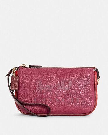 2519 объявлений   СУМКИ: Кожанная мини-сумочка бренда coach.Размер 19см×12смСовершенно новая
