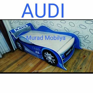 """Bakı şəhərində Avtomobil çarpayı """"Audi"""""""