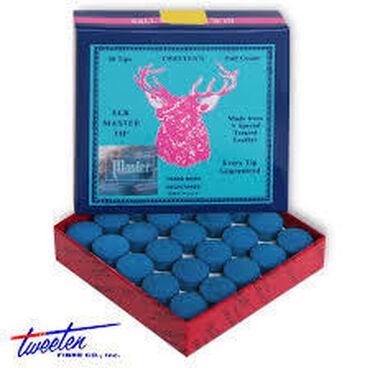 Бильярдные столы - Кыргызстан: Наклейка на кий Elk Master Soft 12 мм Цена 80 сом за штуку Наклейка на