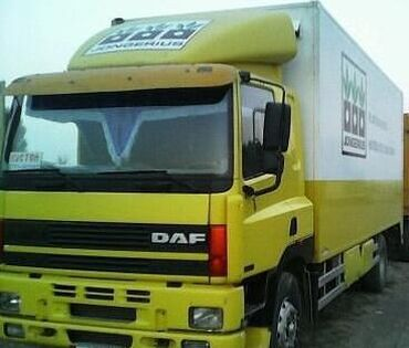 грузовые шины 385 в Кыргызстан: DAF ATI 330л.с1996г,термобудка,горный,шины 22,5. объем 8,9шесть