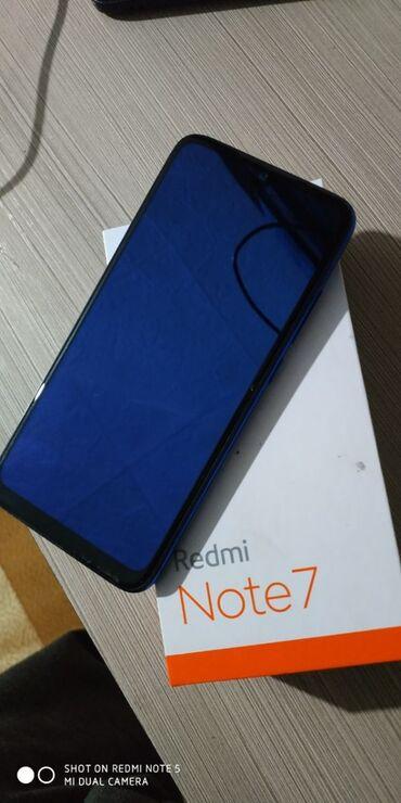 Xiaomi Redmi Note 7 | 64 ГБ | Синий | Сенсорный, Отпечаток пальца, Две SIM карты