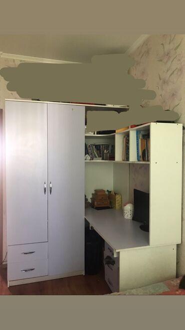 детские платья из шифона в Кыргызстан: ПРОДАЮ!!! Мебель в детскую комнату с комплектованием  Две кровати + с