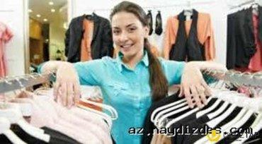 Bakı şəhərində Sederekde yerleshen shuba magazasina satici xanim teleb olunur...yash