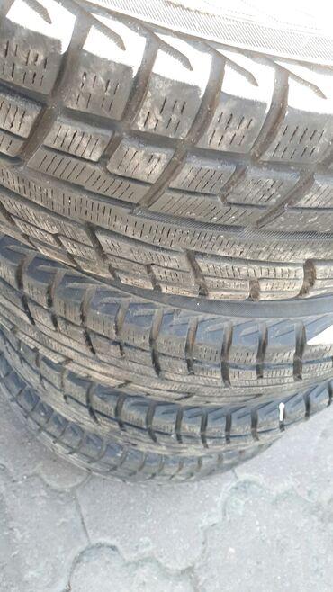 Продается комплект зимних шин,состояние новой резины. Размер 215/65