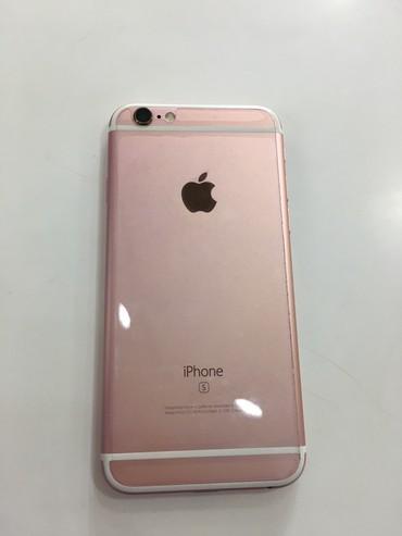 Bakı şəhərində Apple 6S Rose Gold 64GB, Hec bir problemi yoxdur, on/ arxa plonkali