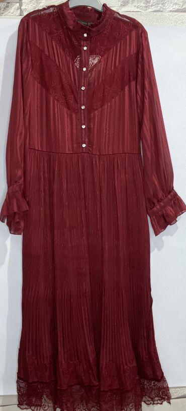 платья свободного кроя для полных в Кыргызстан: Турецкое платье ниже себестоимости(срочно продаю) Покупала по 45$, все