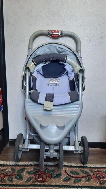 Детский мир - Беш-Кюнгей: Продаётся б/у коляска. Очень в хорошем состоянии.  Легко складывается