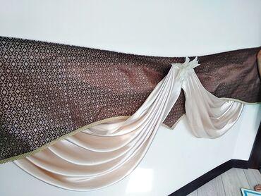 Продаю очень красивую штору покупали только шторы за 6000с.на заказ