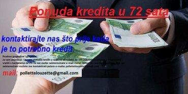 Ja sam pojedinac Ja davati kredite u rasponu od 3.000 € do 15000.000€ - Cacak