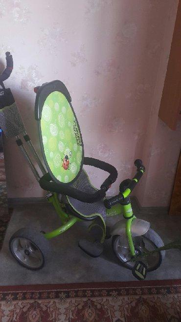 детский трехколесный в Кыргызстан: Велосипед трехколесный. В полной комплектации. Багажник, подушка и