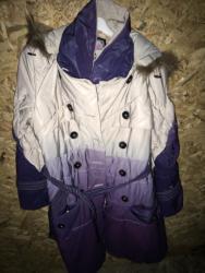 Zimska-jakna-sa-krznom - Srbija: Zimska duza jakna,s pravim krznom na kapi