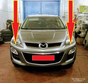 Крышка омывателя фар от Mazda CX-7.  В наличии только левая сторона. в Душанбе