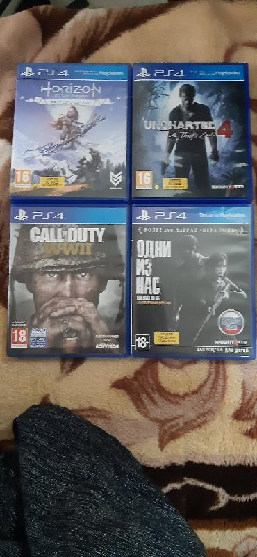 free xbox games в Кыргызстан: Ps4 games to sell in new condition 10/10ps4 игры для продажи в новом