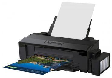 цветной-принтер-эпсон в Кыргызстан: Продаю принтер для сублимации А3+ формата Epson L1800бу прошел