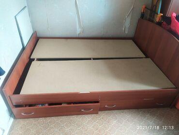 продам кресло кровать in Кыргызстан | ДИВАНЫ: Продаю сатылат кровать кроват двухместный двухспальную двухспвльныйВ