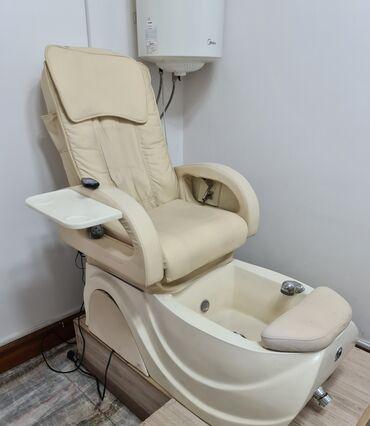 массажное кресло бишкек цена в Кыргызстан: Срочно! Цена снижена!!! Продаю кресло для педикюра, массажное! Состоян