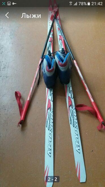 Лыжи - Азербайджан: Лыжи детские . 39 размер