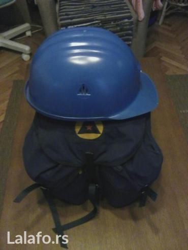Kompletna oprema civilne zaštite iz vremena sfrj. Sadržaj kompleta: - Lazarevac